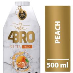 4BRO ice tea 0,5 L Barack