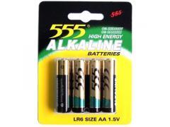 555 elem 1.5V Alkaline AA/LR6/4 db-os