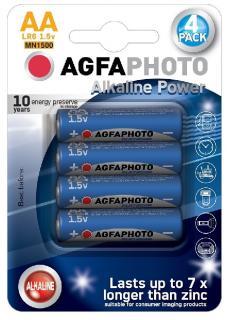 AgfaPhoto elem 1,5 V Alkáli Ceruza AA/LR6/4 db-os