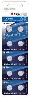 AgfaPhoto elem 1,5 V Alkáli Gomb AG10 LR1130 10db-os