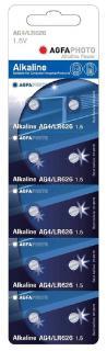 AgfaPhoto elem 1,5 V Alkáli Gomb AG4 LR626 10db-os