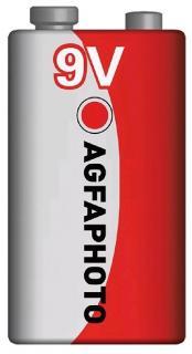 AgfaPhoto elem 9 V féltartós E-Block Super Heavy Duty Premium 6F22