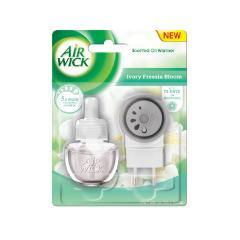 Air Wick elektromos készülék utántöltővel 19 ml Fehér virágok