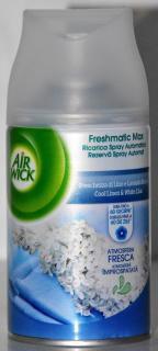 Air Wick légfrissitő utántöltő spray 250ml Automata készülekhez Cool Linen