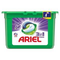 Ariel mosókapszula 13/14 db-os 3in1 Levendula