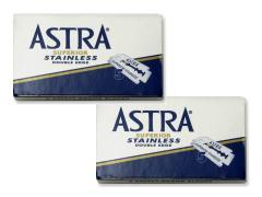 Astra borotvapenge 5 db-os Stainless - Kék