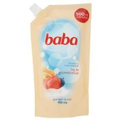 Baba szappan folyékony utántöltő 500 ml Tej és gyümölcs