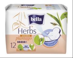 Bella betét egészségügyi 12 db-os Herbs Sensitive Plantago