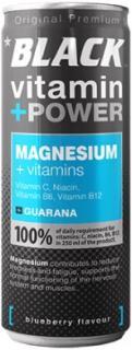 Black energiaital 250ml magnézium+vitamin