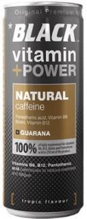Black energiaital 250ml Natural+Caffeine