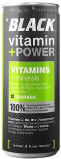Black energiaital 250ml vitamin