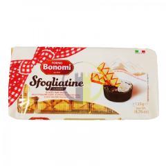 Bonomi cukros sütemény - leveles tészta - 135g - Bonomi Sfogliatine