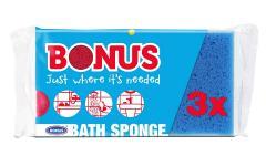 Bonus fürdőszivacs 3 db-os B057