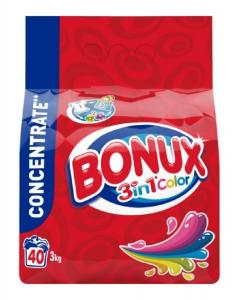 Bonux mosópor 3 kg 40 mosás - Color 3in1