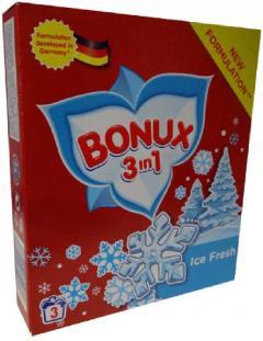 Bonux mosópor 300 g 3 mosás Fehér ruhához- Ice Freh