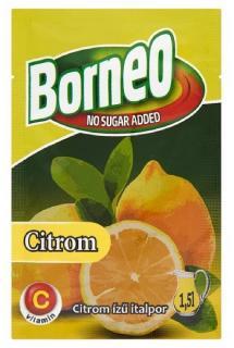 Borneo Citrom ízű italpor 9g