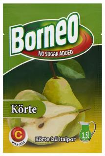 Borneo Körte ízű italpor 9g
