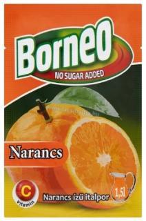 Borneo Narancs ízű italpor 9g