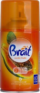 Brait légfrissítő aerosol utántöltő időzített készülékhez 250 ml Exotic fruits