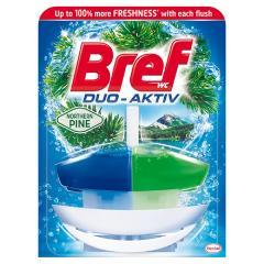 Bref wc gél Duo Aktiv 50 ml kosaras Pine