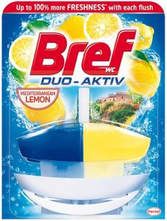 Bref wc gél Duo Aktiv 50 ml kosaras Lemon