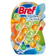 Bref wc tisztító és illatosító golyó Aqua Active 3x50 g Juicy Peach and Sweet Apple ( Parfume Swich