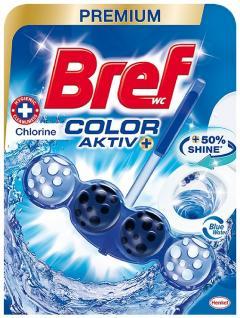 Bref wc tisztító és illatosító golyó Blue Active 50 g Chlorine