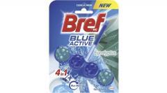Bref wc tisztító és illatosító golyó Blue Active 50 g Eucalyptus