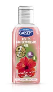 Caosept kéz és bőrfertőtlenitő gél hibiszkuszvirág 50ml