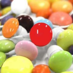 CBE fülhallgató Candy