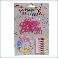 CBE gyertya születésnapi 24db-os