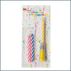 CBE gyertya zenélő születésnapi 1+2