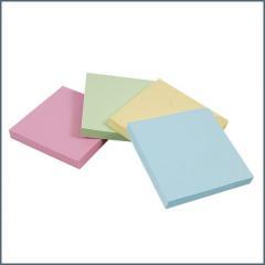 CBE jegyzettömb sticker 76x76mm vegyes színekben dzy