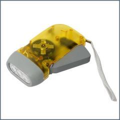 CBE lámpa kézzel működtethető (dinamos)