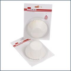 CBE Muffinpapír 60 db-os D 12.5cm fehér