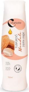 Charlotte tusfürdő 750 ml Mandula- jojoba olaj