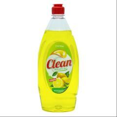 Clean mosogatószer 900 ml Citrom
