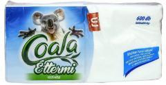 Coala szalvéta 600 db-os 17x17 cm 1r. 100% cellulóz Éttermi