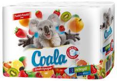 Coala wc papír 24 t. 3 r. 90 lap 100% cellulóz Tuti frutti
