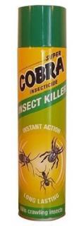 Cobra rovarírtó aeroszol 400 ml  - mászó rovarok ellen - zöld