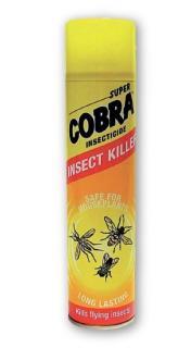 Cobra rovarírtó aeroszol 400 ml  - repülő rovarok ellen - sárga