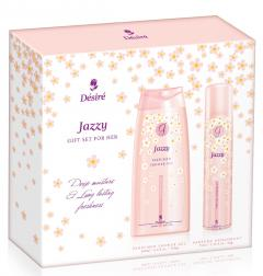 Desire ajándékcsomag SHOWER JAZZY (75ml deo+200ml tusfürdő)