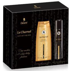 Desire ajándékcsomag SHOWER Le Charnel (75ml deo+200ml tusfürdő)