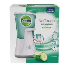 Dettol készülék érintés nélküli szappanadagoló + Utántöltő Uborka 250 ml 4#