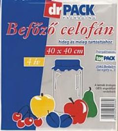 Dr Pack celofán befőzési 40x50cm 4 íves