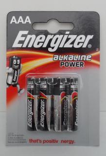 Energizer elem 1,5 V Alkáli Mikro AAA/LR03/4 db-os