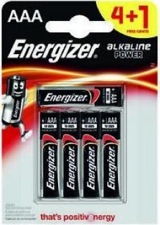 Energizer elem 1,5 V Alkáli Power AAA/LR03/4+1 db-os