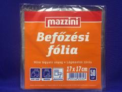 Mazzini befőzési fólia 17x17 cm 50 lap