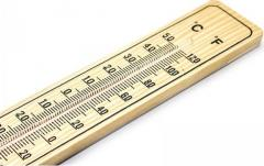 Enger hőmérő fa - Eng173