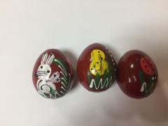 Favilág tojás fa- festett kicsi